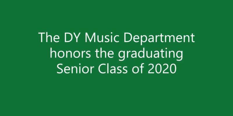 DY Music Honors 2020 Seniors