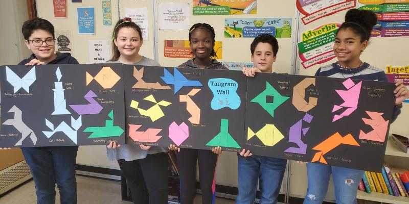 MMS Ms. Ellis Tangram Activity