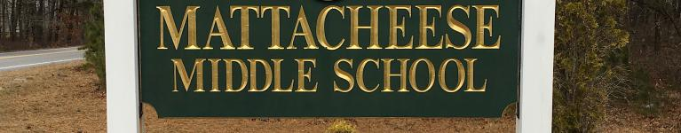 Mattacheese School Sign
