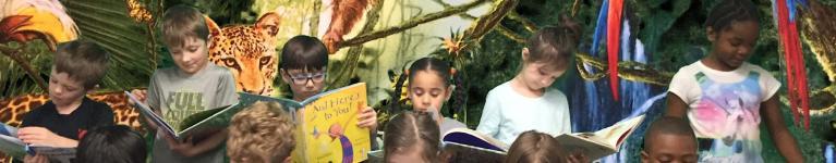 Ehbi students read